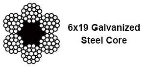 Galvanized-wire-rope-6x19-steel-core