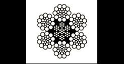 6x24 Galv. Fiber Core