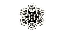 Galv. Fiber, 6x19
