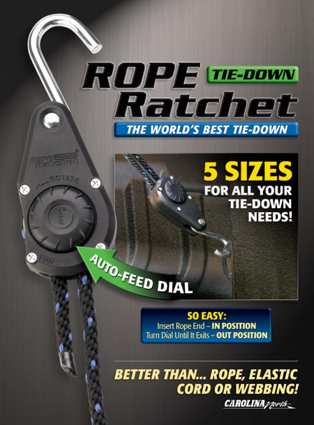 Rope Ratchet Tiedown