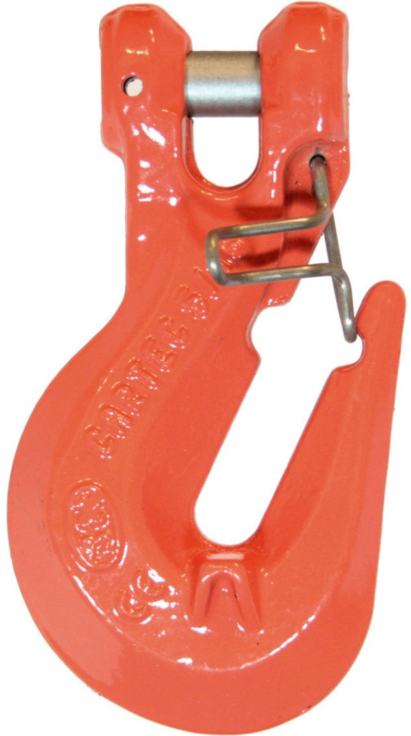 "9/32"" Italy G100 Shortening Clevis Grab Cradle Hook with latch - Import 726201"