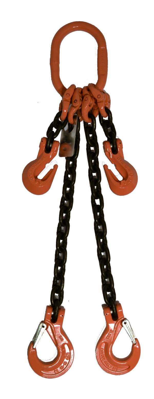 Adjustable 2 leg with Sling Hook ADOS GR-100 Chain Sling