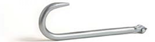 """15"""" Clevis Type J Hook WLL 3000 lbs. Zinc Plated 2950012"""