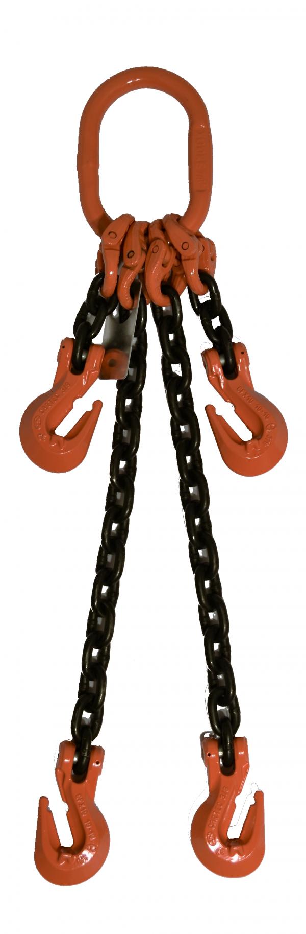 Adjustable 2 Leg With Grab Hook ADOG GR-100 Chain Sling