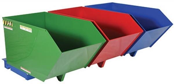 Material Bin Hopper - 3 Individual Bins