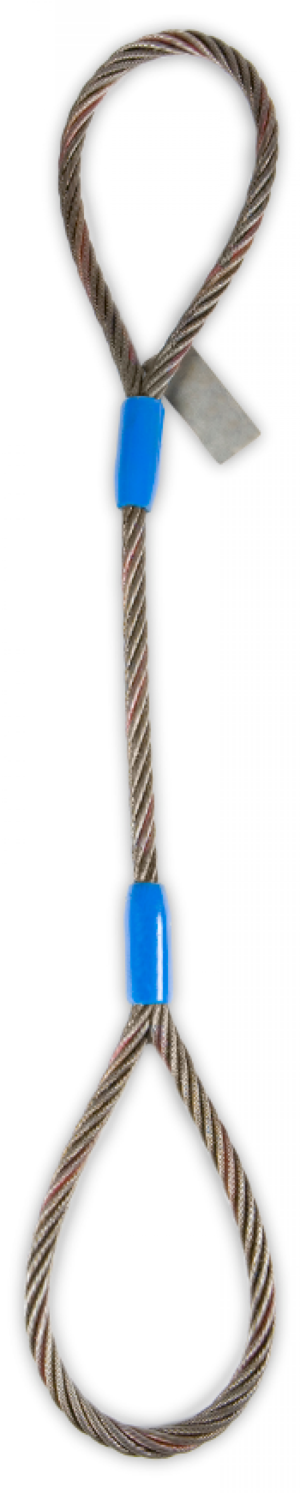"3/4"" Eye & Eye Wire Rope Sling - 11,200(Lbs) Vertical WLL"