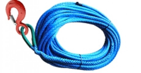 "1/4 "" x 50' Amsteel Blue Synthetic Winch Line #1196250"