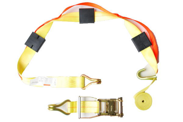 """Over Tire Strap, 2"""" Web, Cleats, with Wire Hook 302525"""