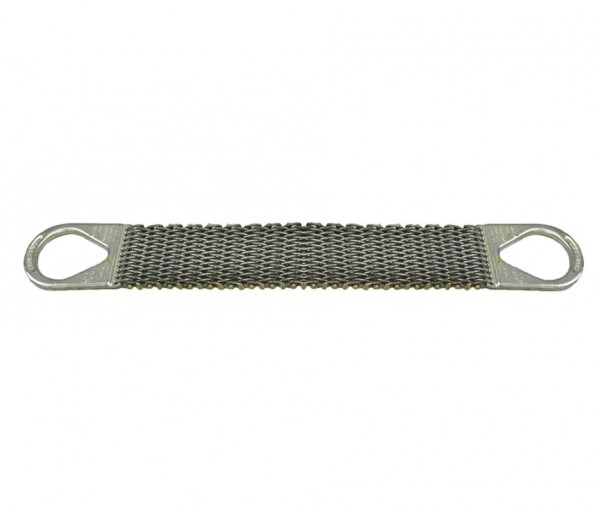 """3"""" x 06' Wire Mesh Slings 10 Gage - Type (2) 806575"""