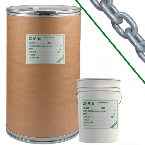 Galvanized Grade 30 Proof Coil Chain