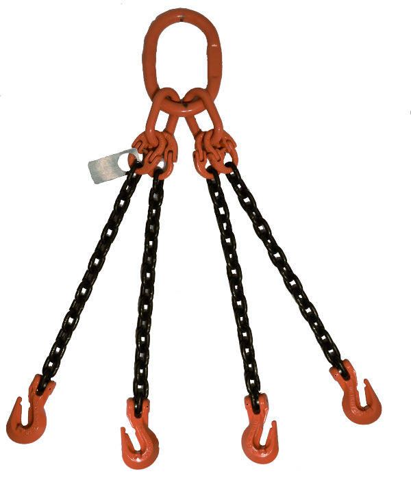 4 Leg With Grab Hook QOG GR-100 Chain Sling
