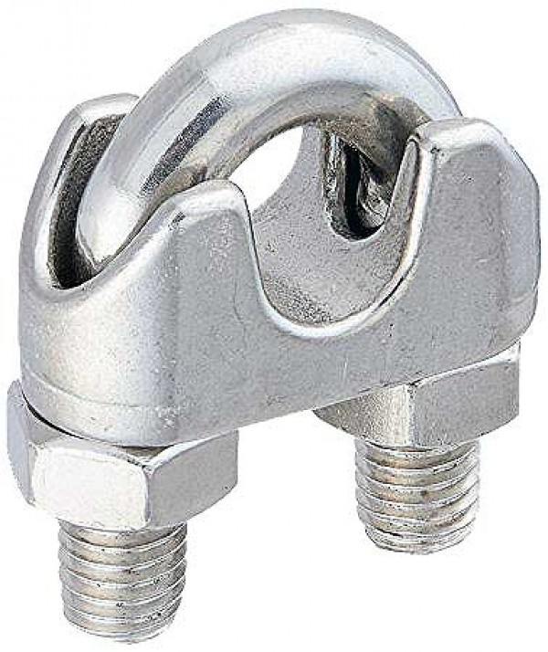 Stainless Steel Wire Rope Clips - Type 316