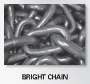 "3/16"" PROOF COIL CHAIN Bright 312100"