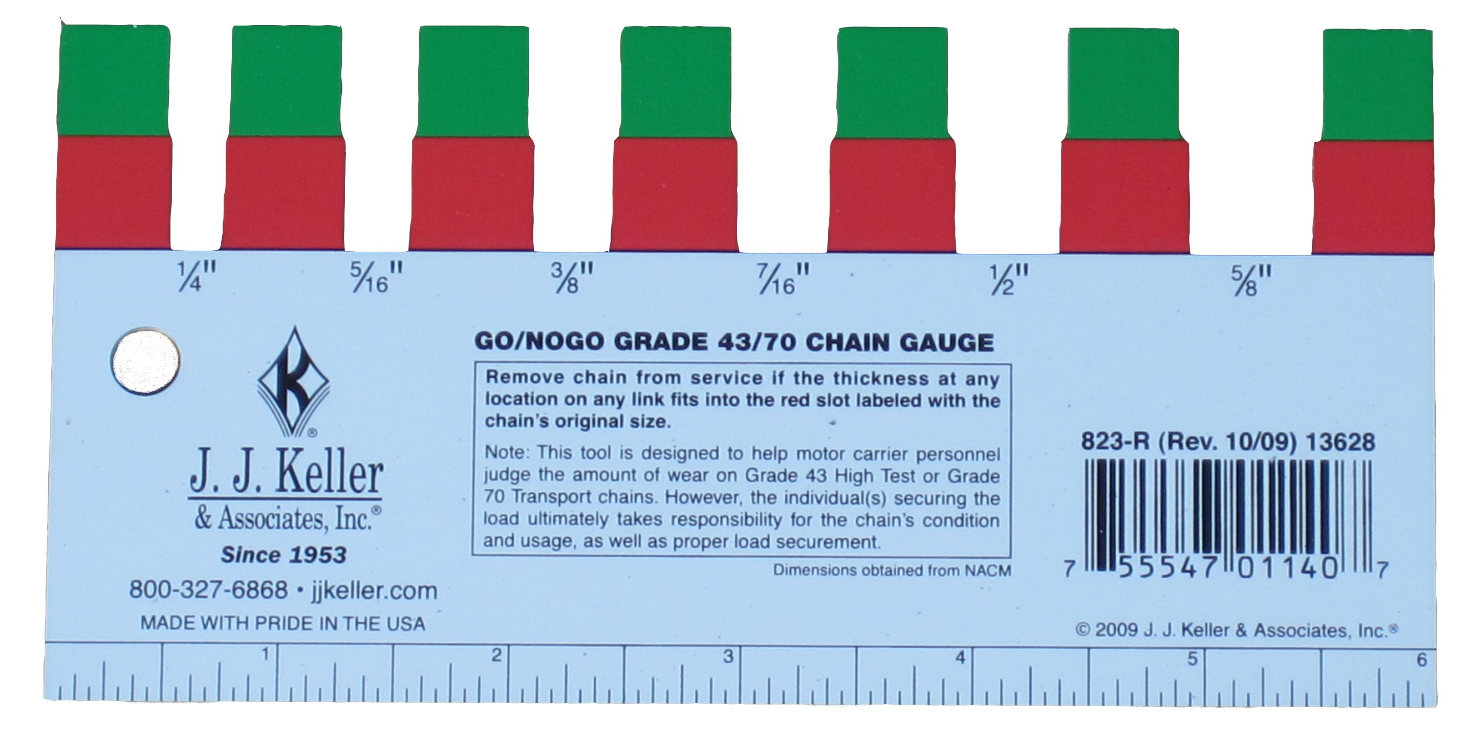 Grade 43/70 Chain Gauge