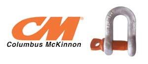 Columbus McKinnon Galvanized Screw Pin Chain Shackle - USA
