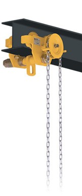 1 Ton Geared Beam Trolley -  OZ1GBT