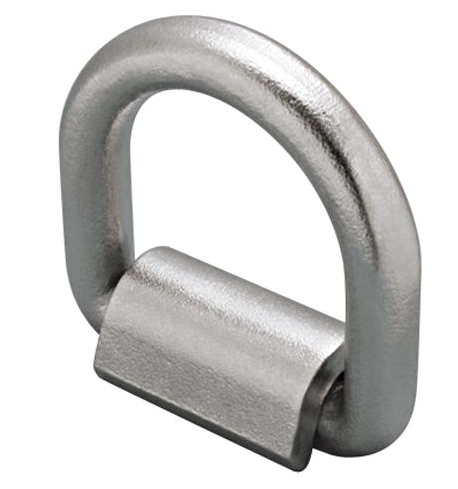 Stainless Weld On D-Ring/Lashing Ring - Type 316