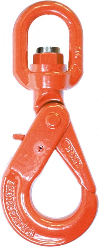 "1/2"" Grade 100 Swivel Self-Locking Hooks 694465"