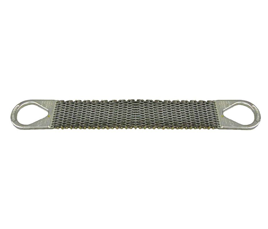 "3"" x 06' Wire Mesh Slings 10 Gage -  Type (2)"