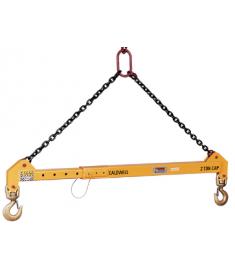 10 Ton Adjustable Spreader Bar - With Top Rigging 32-10-6/10K