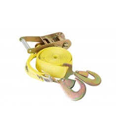 """2"""" Ratchet Tie-Down with Flat Snap Hooks"""