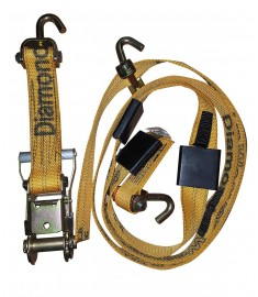 "Over Tire Strap, 2"" Web, Cleats, with Swivel J Hooks 302536"