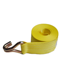 """4"""" Replacement Ratchet Strap with Wire Hook - Double J Hook"""