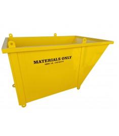 Slanted Material Bin — 4'x4'x4'