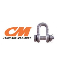 Columbus McKinnon Galvanized Bolt Type Chain Shackle