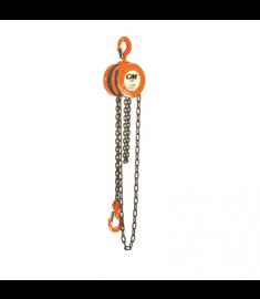 CM Series 622 Hand Chain Hoist 1 Ton Capacity 10' Lift #2256