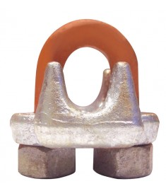 CM Galvanized Drop Forged Wire Rope Clips -  USA
