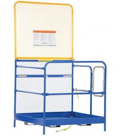 "Work Platform - 36"" x 36"" - High Back WP-3636"