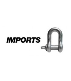 Galvanized Screw Pin Chain Shackle Import