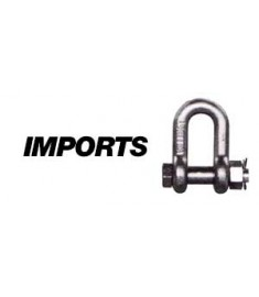 Galvanized Bolt Type Chain Shackle