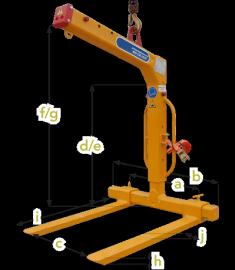 Crane Pallet Lifter - 4400 lbs. PL20