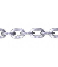 """9/32"""" Zinc Plated Security Chain - Sold by the foot 325100"""