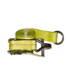 """2"""" Ratchet Tie-Down with Wire Hook/O-Ring"""