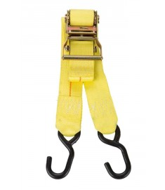 """2"""" Ratchet Tie-Down with S Hooks"""