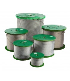 7 x 7 Galvanized Aircraft Cable