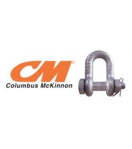 Columbus McKinnon Galvanized Bolt Type Chain Shackle