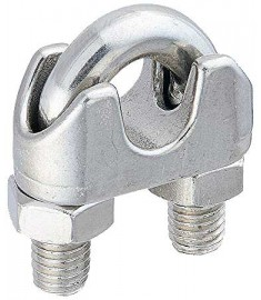 Stainless Steel Drop Forged Wire Rope Clips - Type 316