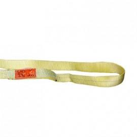 "1/""x 10/' Endless Web Lifting Sling Poly 2 Ply Tow Strap Yellow EN2-901"
